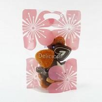浪漫櫻花 手提夾鏈立袋 (155*230+35mm)(50入/包)