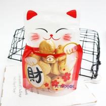 發財貓 動物夾鏈立袋 (150*220+35mm)(50入/包)