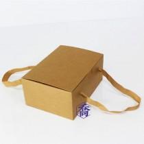 風尚 牛皮紙無印禮盒(20.5*14.4*9cm)