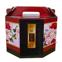 花開富貴 手提3000cc年菜盒(27*17cm)