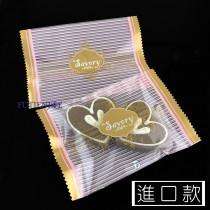 進口-317-2 菈芙頌(粉) 餅乾袋 (8.5*12.5cm)