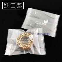 進口-318-1 幸福鳥(銀) 餅乾袋 (7*10cm)