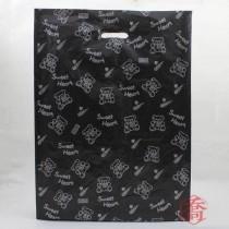 加大折角(40*12*60cm)黑色-購物袋(50入/包)