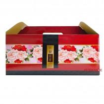 花開富貴 54手提長型年菜盒(54*26.5*24.5cm)