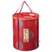 鴻福吉祥 一桶五菜手提年菜盒(30.5*36cm)