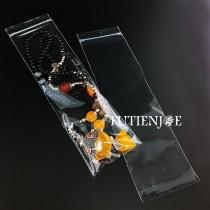 PP長型吊孔透明夾鏈袋(7*26cm)(100入/包)