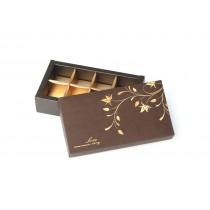 8入巧克力盒-真愛咖啡(17*8*4cm)