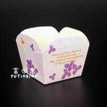 烘烤正方E杯-紫藤花(48*48*50mm)(100入/串)