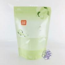 【特惠】花舞(綠) KPET保鮮夾鏈立袋 (160*235+40mm)(50入/包)