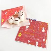 聖誕L袋(內層淋膜)(13*13cm)(100入/包)