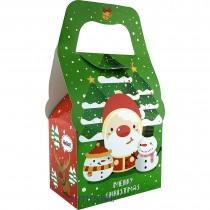 耶誕 半斤糖果盒 (13.5*9*10cm)