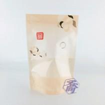 【特惠】花舞(桔) KPET保鮮夾鏈立袋 (160*235+40mm)(50入/包)