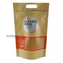 進口-經典(小橘) 手提開窗牛皮夾鏈立袋 (155*245+40mm)(50入/包)