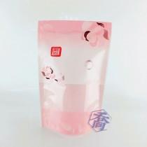 花舞(粉) KPET保鮮夾鏈立袋 (160*235+40mm)(50入/包)