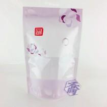 【特惠】花舞(紫) KPET保鮮夾鏈立袋 (160*235+40mm)(50入/包)