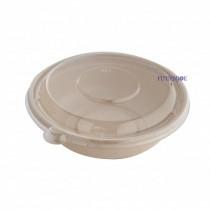 【整箱預訂】CR-32oz 植物纖維圓碗(20.75*5.9cm)