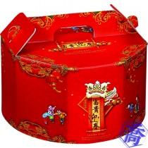 富貴迎春 手提3000cc年菜盒(30.5*16cm)