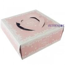 雅妮絲粉 6吋手提派盒 (20*20*8.5cm)