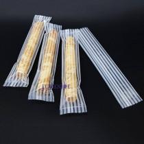 進口-條紋 單支蛋捲袋(5*25cm)(100入/包)