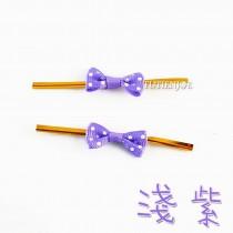 點狀小蝴蝶(淺紫)魔棒8cm(24入/包)