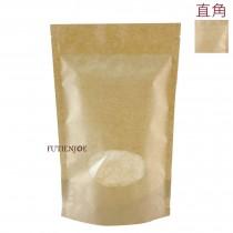 【特惠】橢圓開窗(直角) KOP保鮮夾鏈立袋 (160*250+40mm)(50入/包)