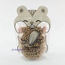 貪吃鼠 動物夾鏈立袋 (150*220+35mm)(50入/包)