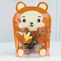 小萌猴 動物夾鏈立袋 (150*220+35mm)(50入/包)