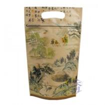 中國山水 手提夾鏈立袋 (185*315+45mm)(50入/包)