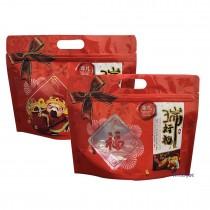 進口-瑞好禮 方型手提夾鏈立袋 (240*190+50mm)(50入/包)