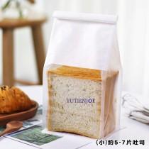 鐵絲捲邊吐司袋(小)(13*28+9.5cm)(50入/包)