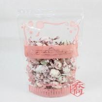 PP球球(大-粉) 夾鏈微立袋(160*210+30)(50入/包)