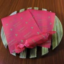 牛軋糖紙-(厚)幸福鳥(粉) (500張/包)