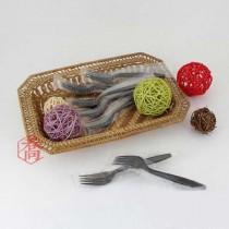 美式單包黑叉子(17cm) (100支/包)