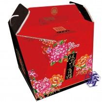 手提加厚佛跳牆年菜盒-鴻運百福(20.5*20.5*18.5cm)