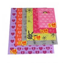 1號(40.5*49.5cm)紅色-購物袋(100入/包)