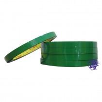 【買10送1】綠-束口機膠帶9mm