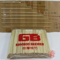 4台寸*3.0mm竹叉(900g/包)