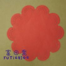 9台寸(紅)花邊紙(200張/包)