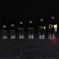 J-06高級金蓋藥罐(4.5*8.7cm)