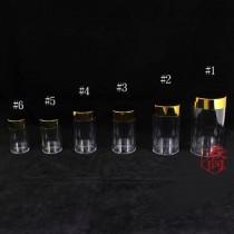 J-02高級金蓋藥罐(6.5*12.3cm)