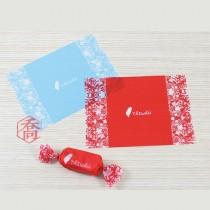 【買十送一】牛軋糖紙-花賞台灣(紅) (500張/包)