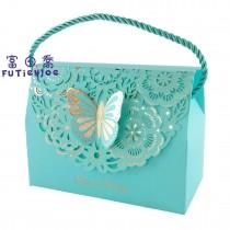 蝶戀(大藍) 手提禮盒(15.2*7.8*11.5cm)