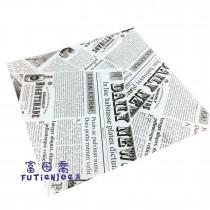 乳酪防油紙-郵報黑(18*18cm)(200張/包)
