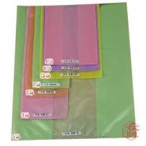 2斤 單色背心袋【花袋/塑膠袋/市場袋】