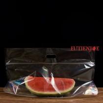 大西瓜 全透明手提夾鏈立袋(600*350+250mm)(50入/包)
