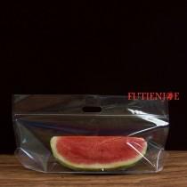 小西瓜 全透明手提夾鏈立袋(540*290+210mm)(50入/包)