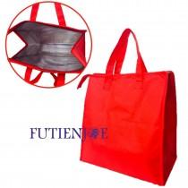 全紅立式手提保冷/保溫袋(36*18*35cm)