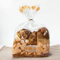 OPP 吐司袋-花彩(橘) (28*32+10cm) (1KG/包)