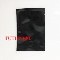 進口-全黑電鍍平口袋 (100*150mm)(100入/包)