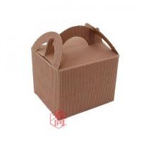 手提瓦楞餐盒(特小)(10.2*8.8*7.9cm)